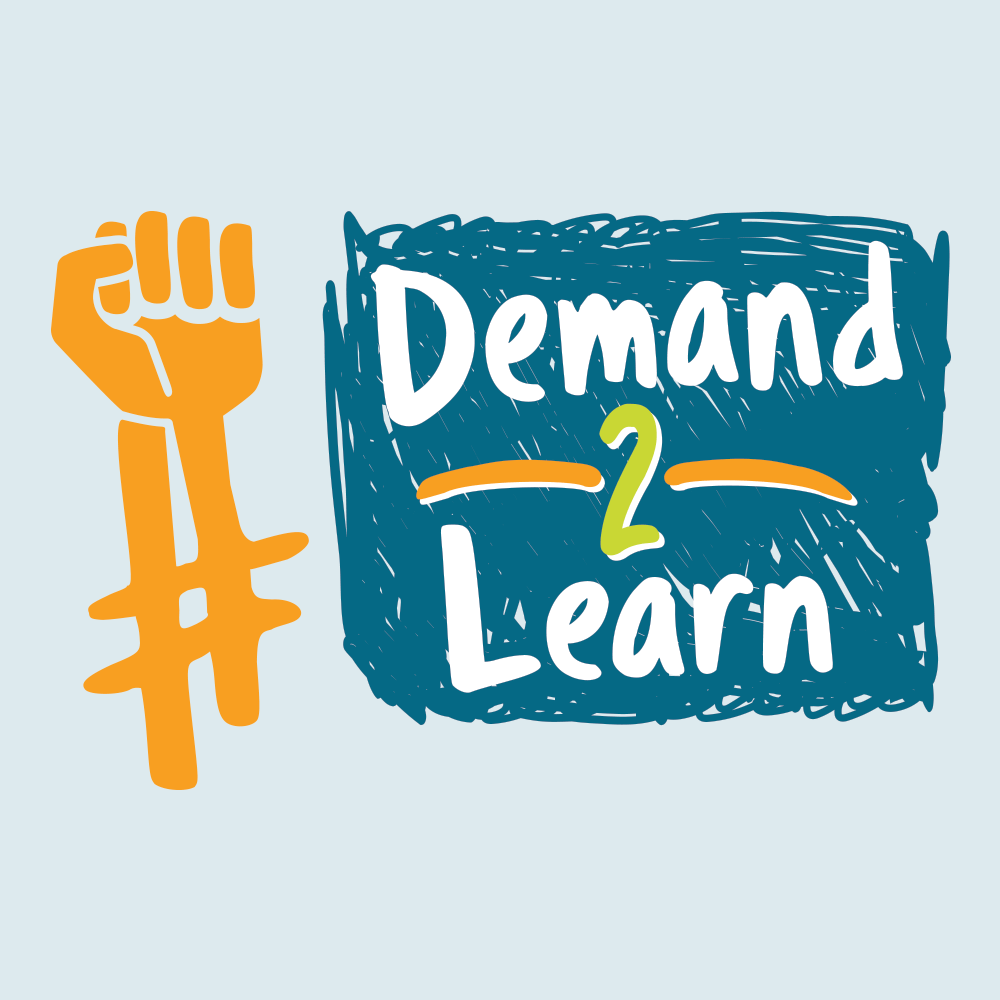 Logo Design-ACLU Demand 2 Learn
