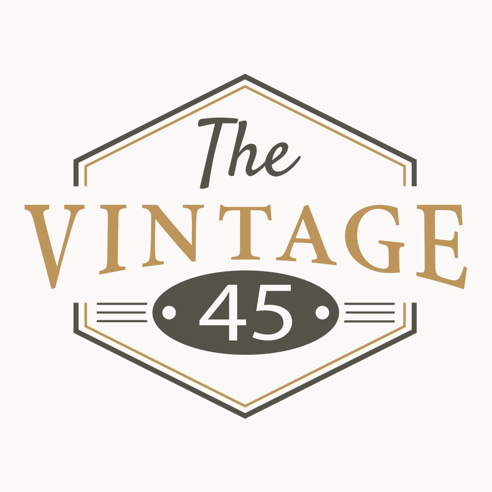 Logo Design-The Vintage 45