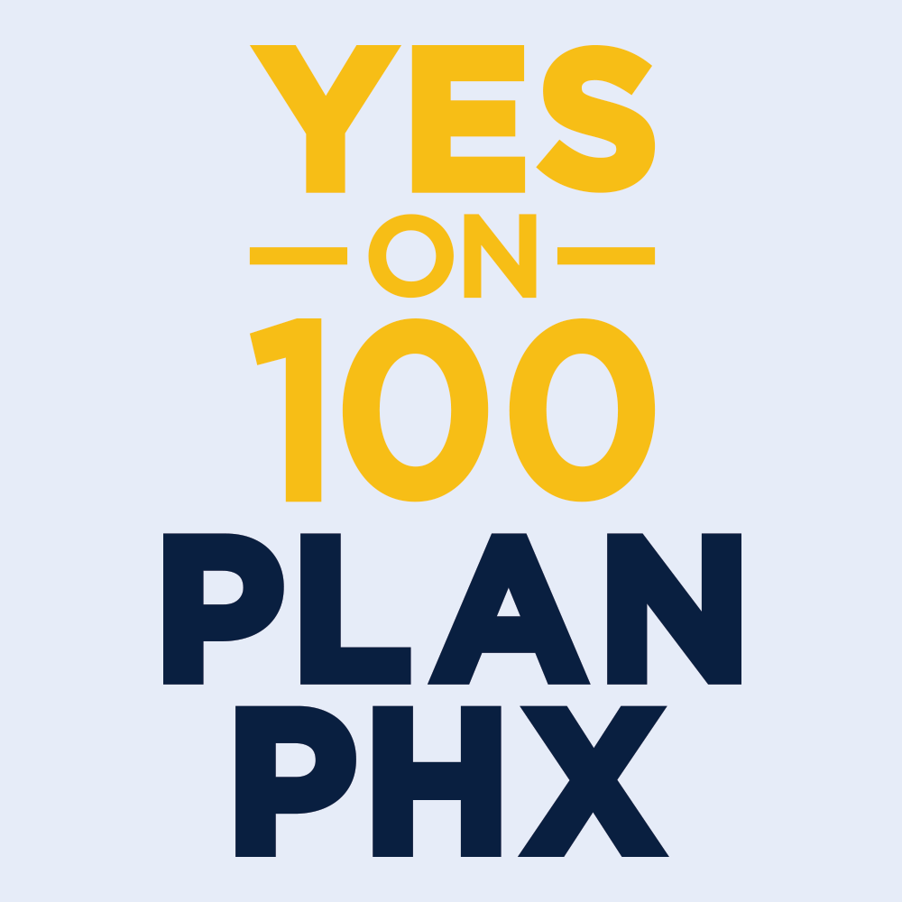 Logo Design-Yes on 100 PlanPhx