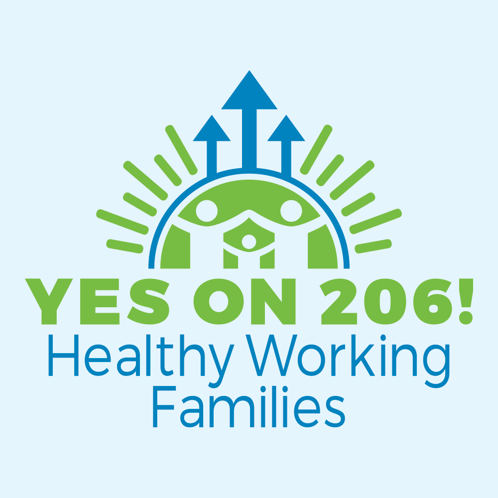 Logo Design-Yes on 206 Healthy Working Families