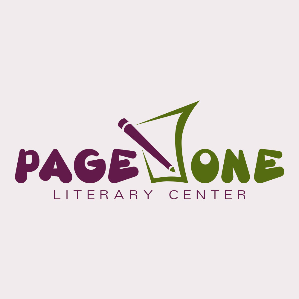 Logo Design-Page One Literary Center