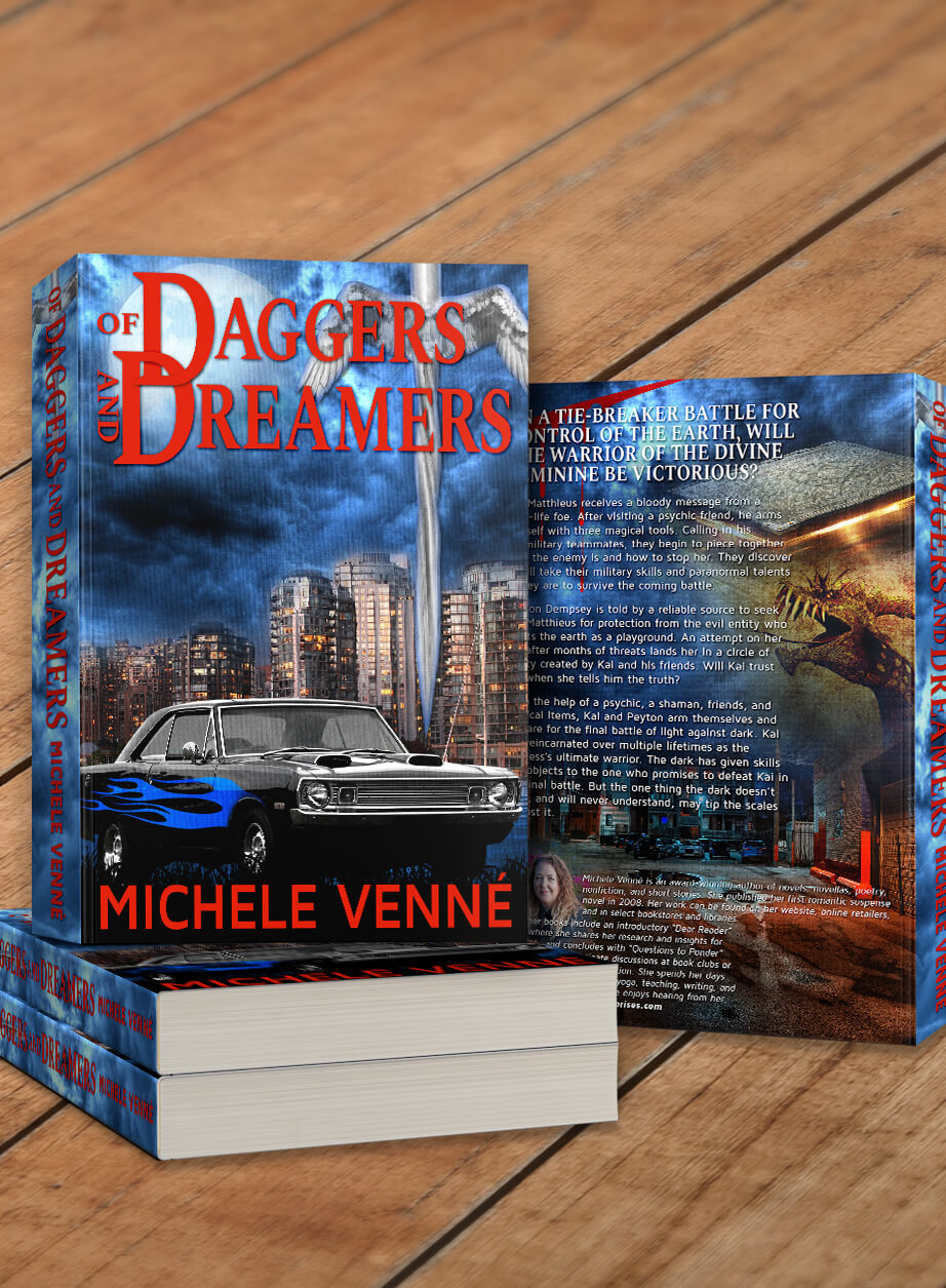 Author Michele Venne-Of Daggers and Dreamers