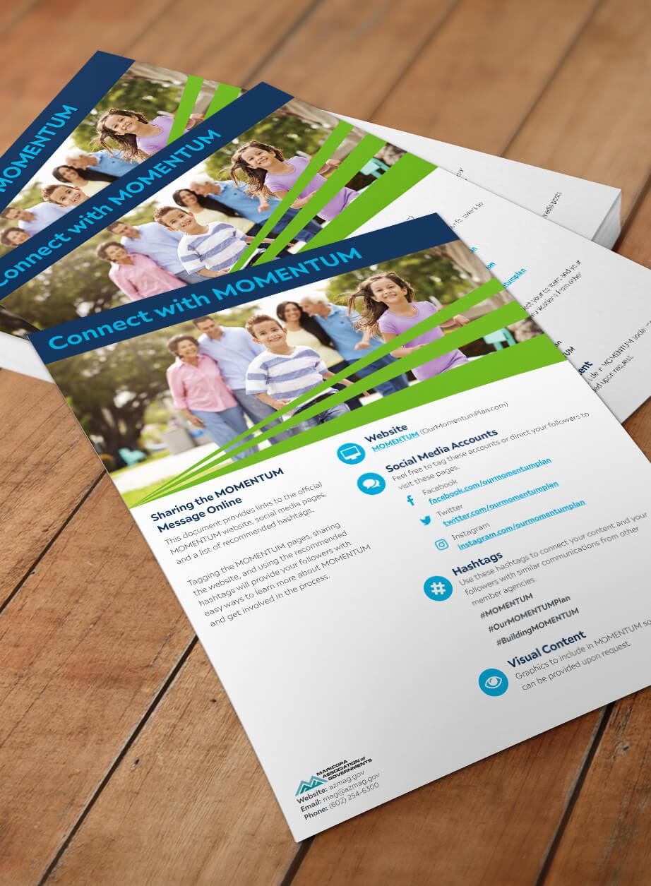 MOMENTUM Regional Transportation Plan-Flyer