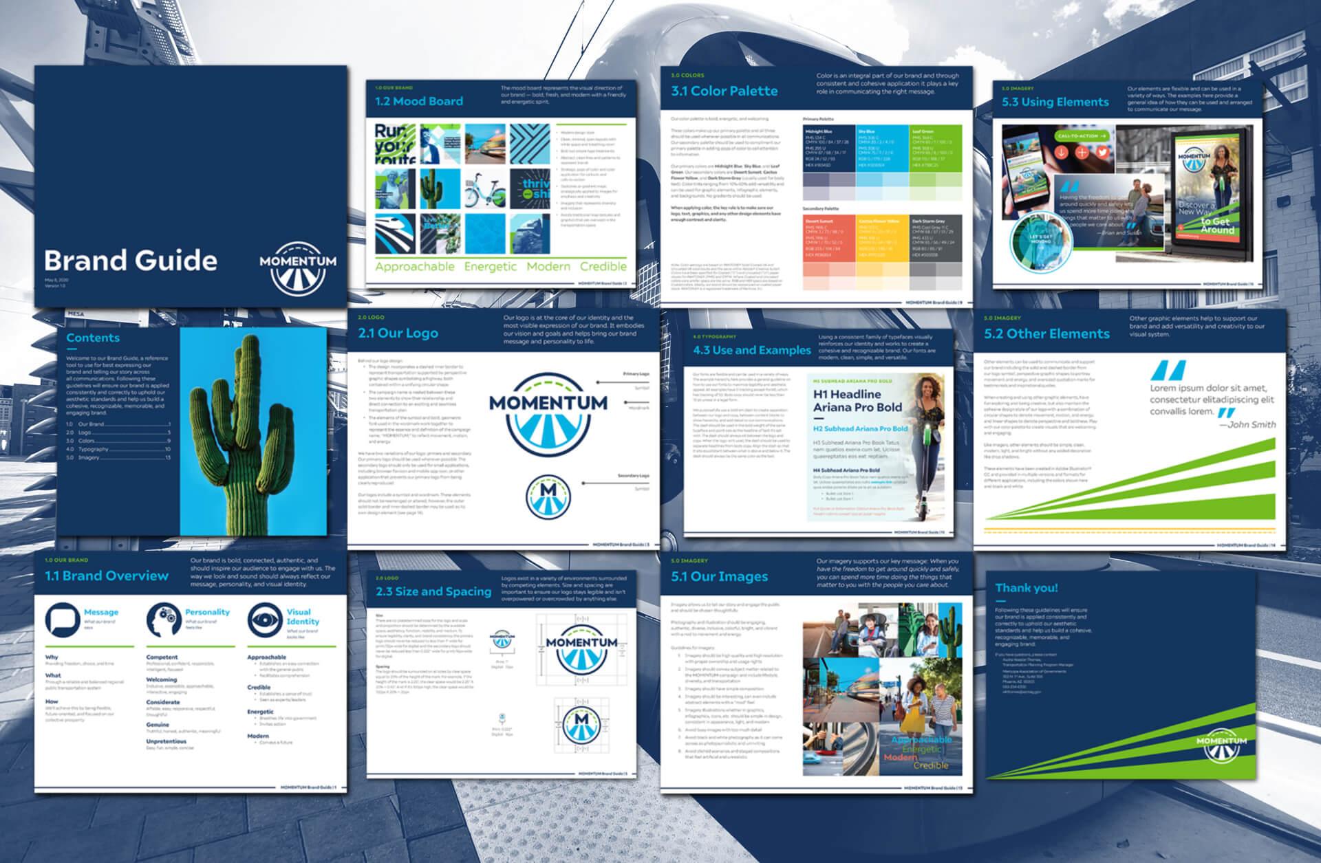 MOMENTUM Regional Transportation Plan-Brand Guide