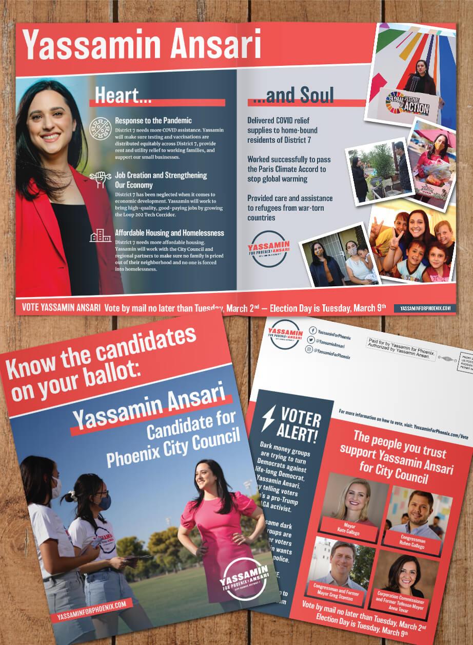 Yassamin Ansari for Phoenix City Council-Direct Mail