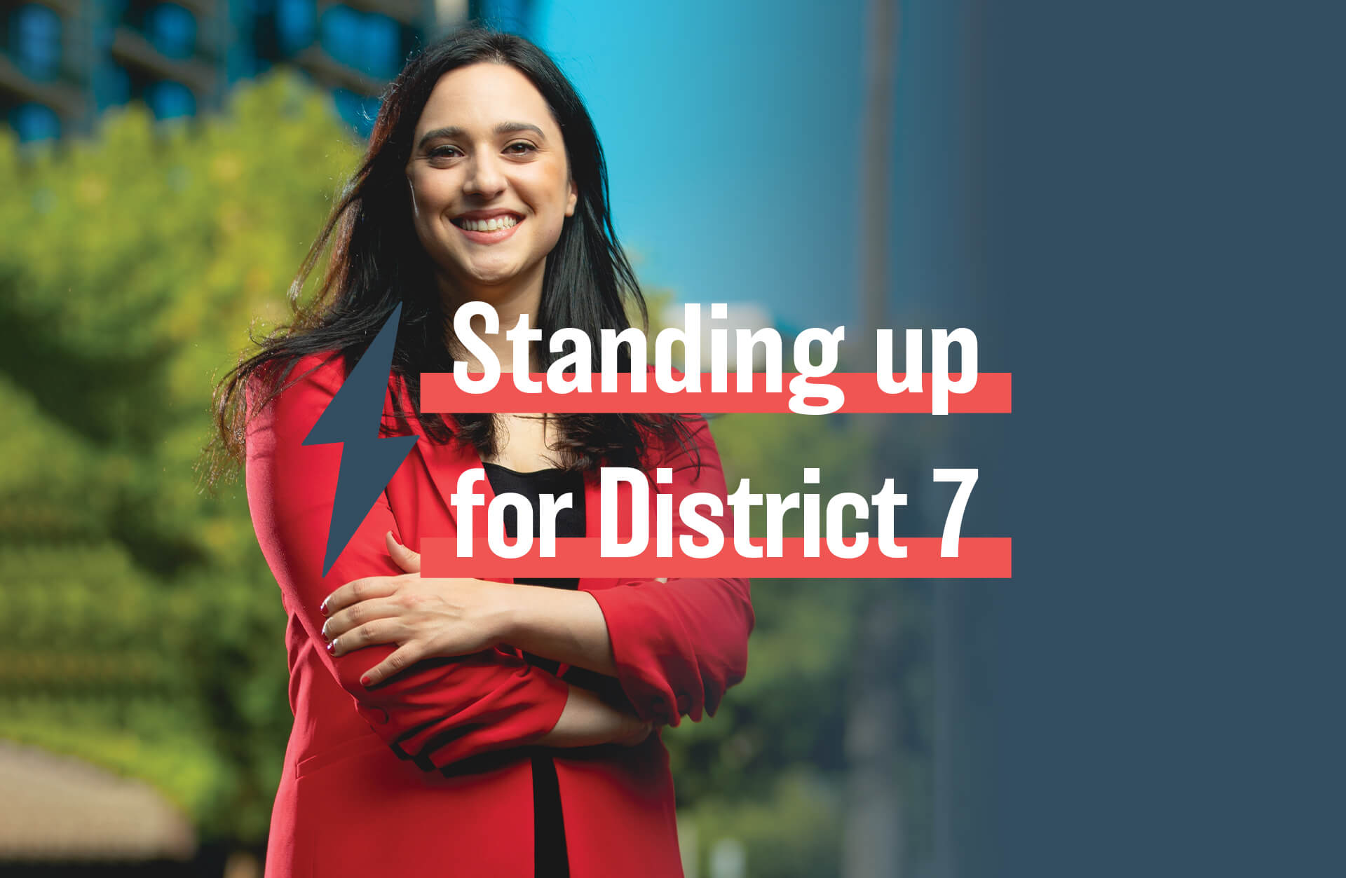 Yassamin Ansari for Phoenix City Council-Standing Up for District 7