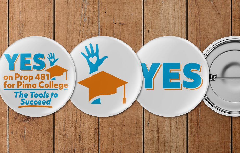 Yes on Prop 481 for Pima College-Logo Design